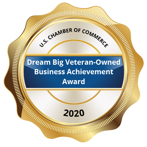 Dream Big Veteran-Owned Business Achievement Award