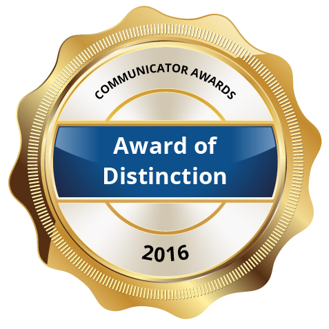 Award of Distinction 2016